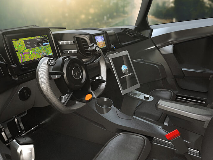 Aeromobil Flying Car Interior