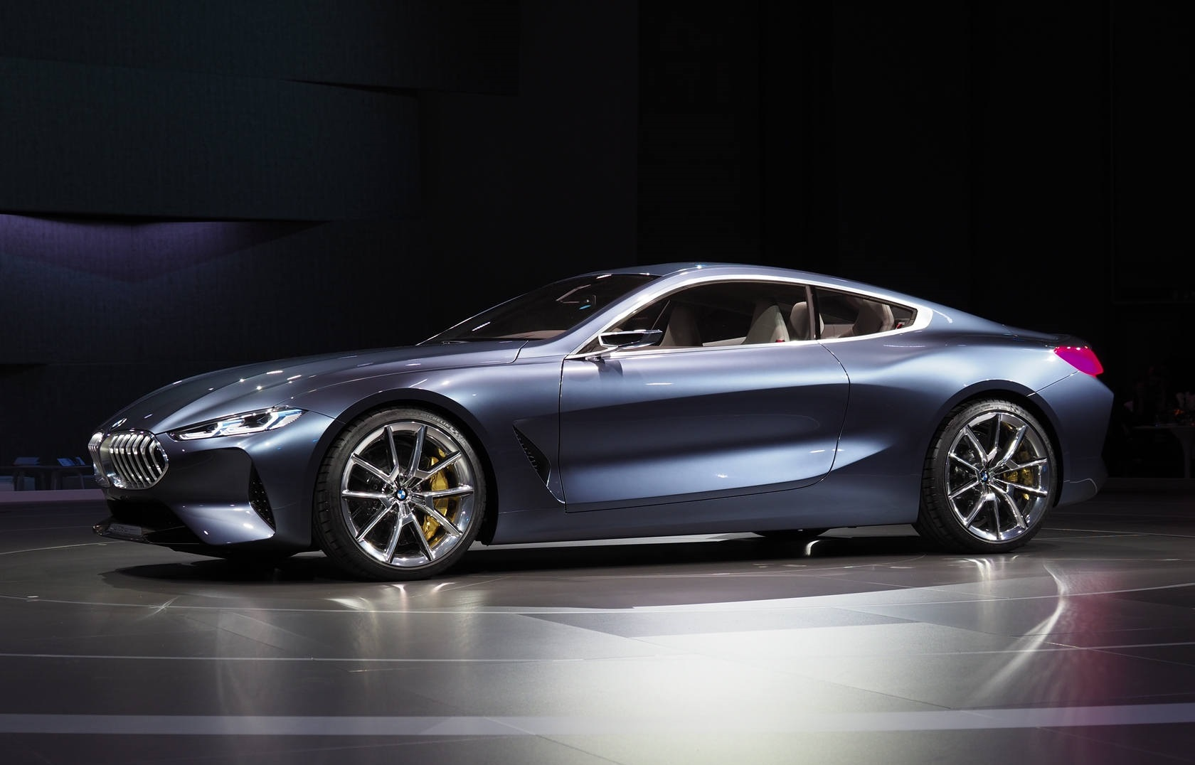 bmw 8 series concept previews the upcoming 8 series. Black Bedroom Furniture Sets. Home Design Ideas