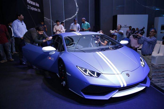 Lamborghini Huracan Avio