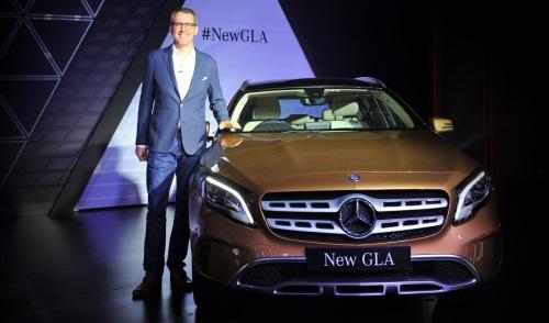 Mercedes GLA Facelift 2017